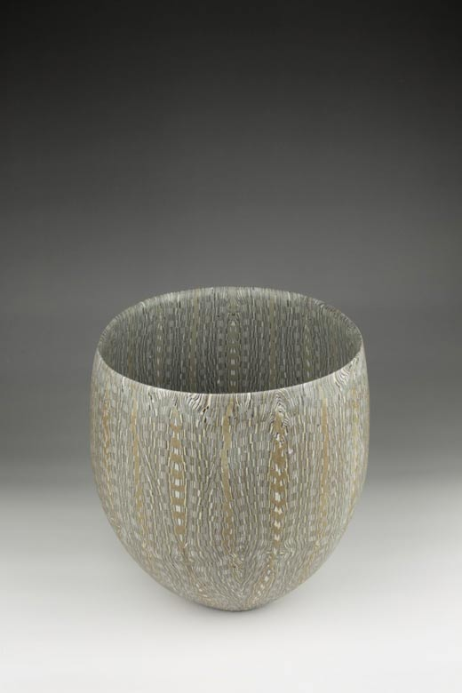 David Pottinger, Nerikomi Bowl (11), 2016, 21cm High