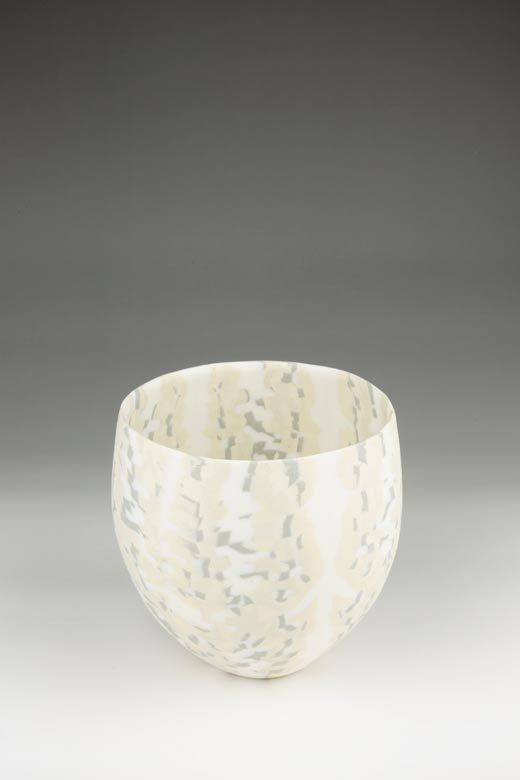 David Pottinger, Small Nerikomi Bowl (20), 2015, 12cm High