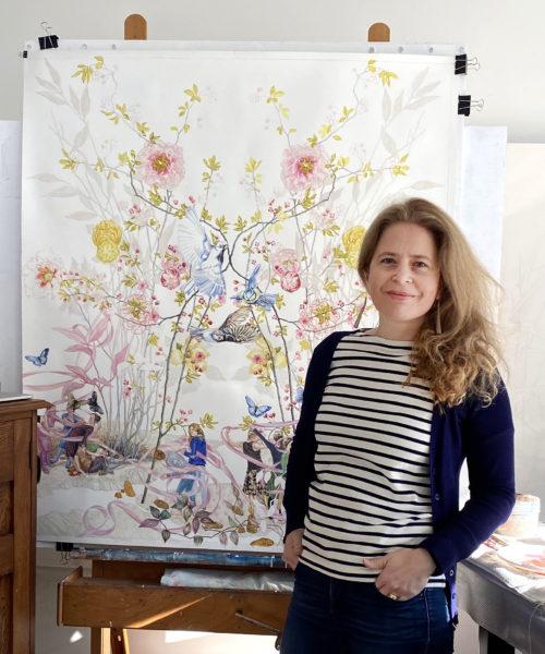 2020 Artist Susanne Kerr, profile photograph, crop