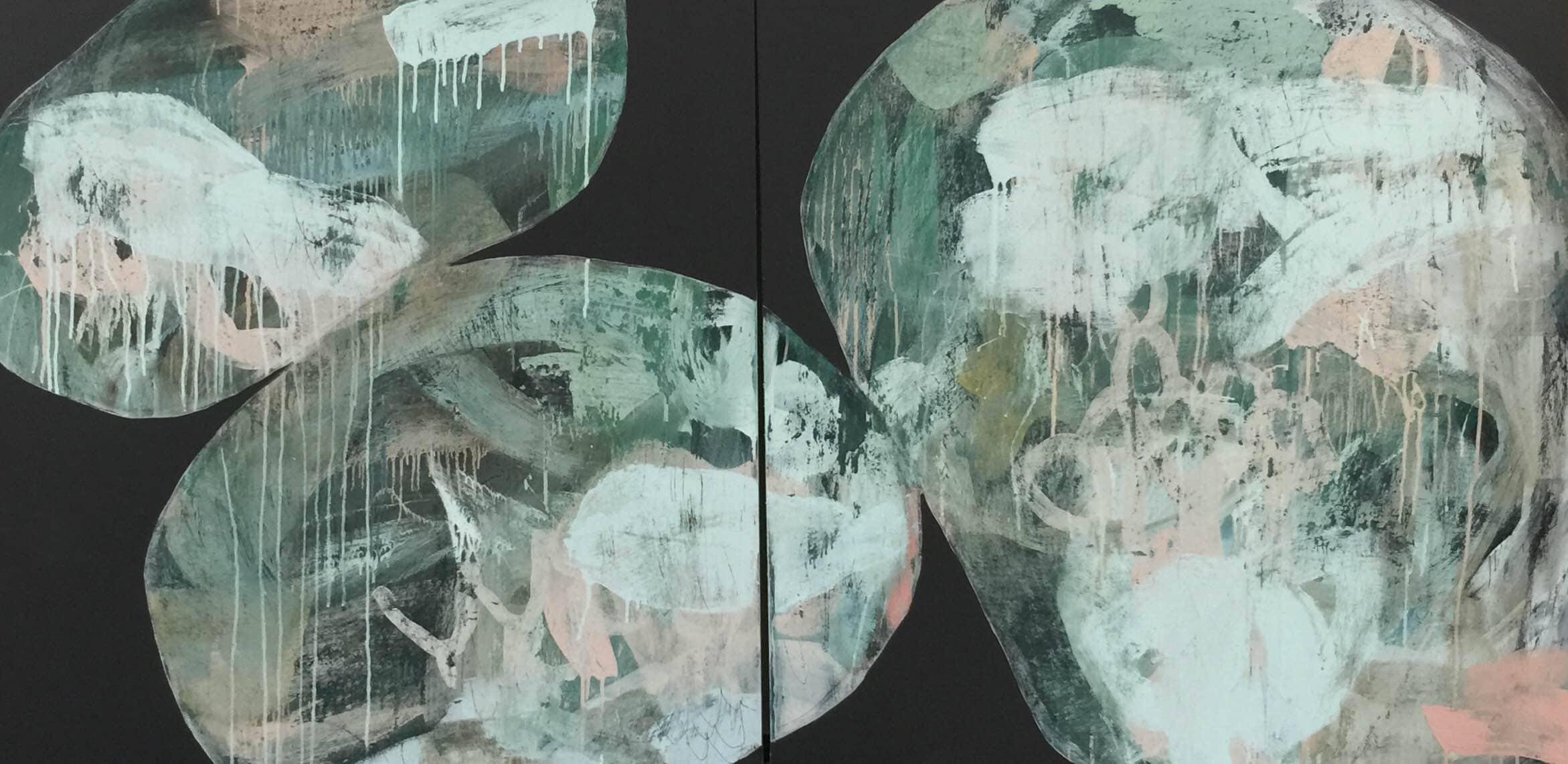 Ngaio Lenz, #65, 101x202cm