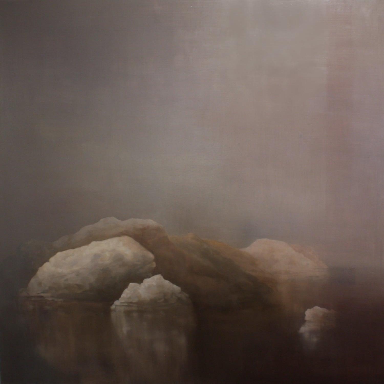 Adriane Strampp, Threshold, 152x152cm