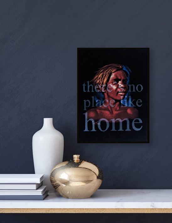Tony Albert, There's No Place Like Home, 28x21cm, velvet