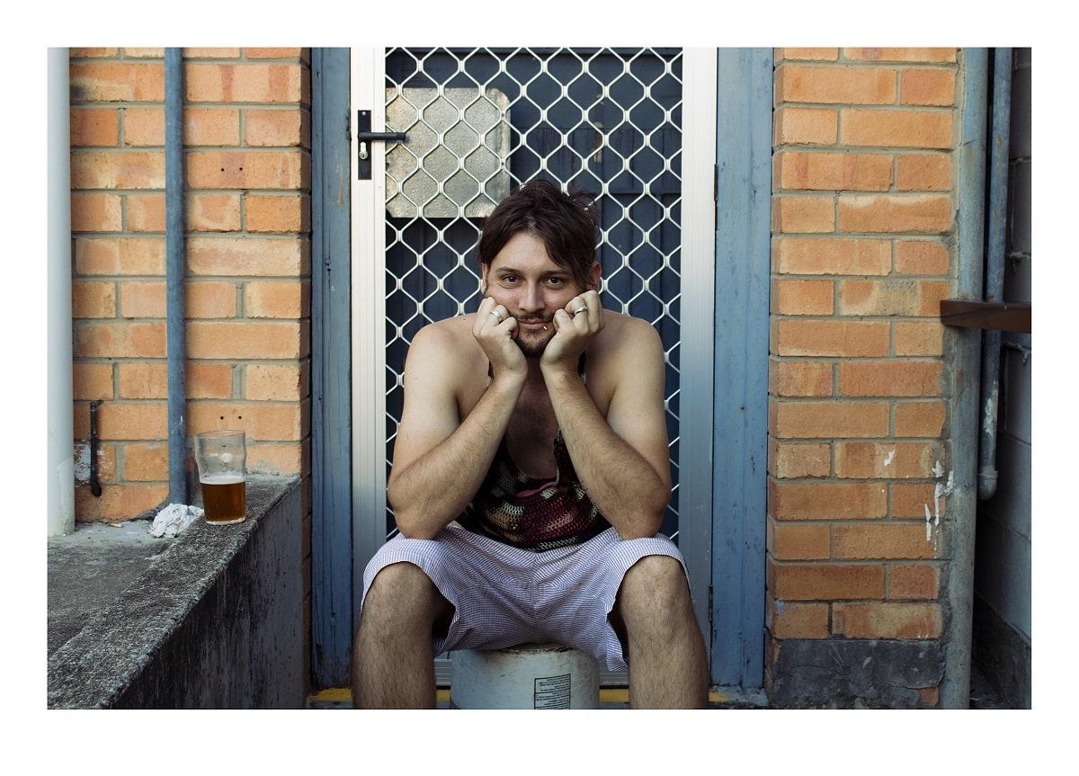 Eric Bridgeman, Bonetti with Bilum, The Trade, 2014