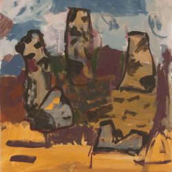 Charmaine Pike, Glen-Davis, 63.5x61cm, Acrylic On Board, 2016
