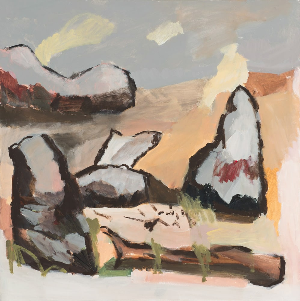 Charmaine Pike, Dry, 76x76cm