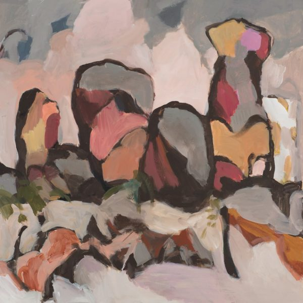 Charmaine Pike, Rock Formations, 76x76cm