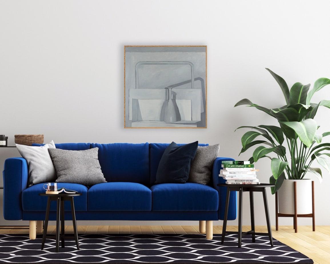 Isobel Clement, Frames, install, 91x91cm