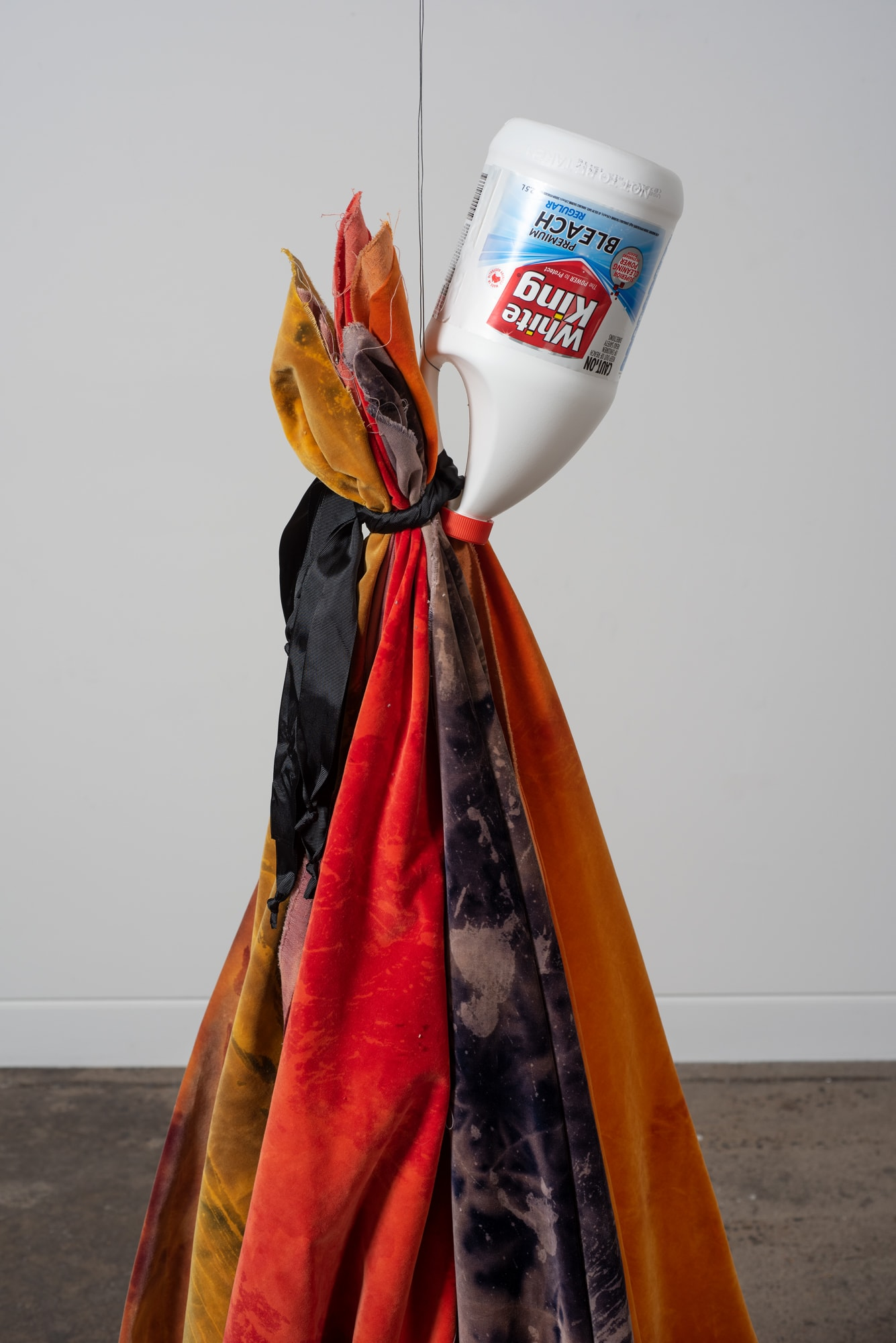Clinton Naina, Passive Aggressive Power - Beautiful Rags, 2019, Dimensions Variable Detail