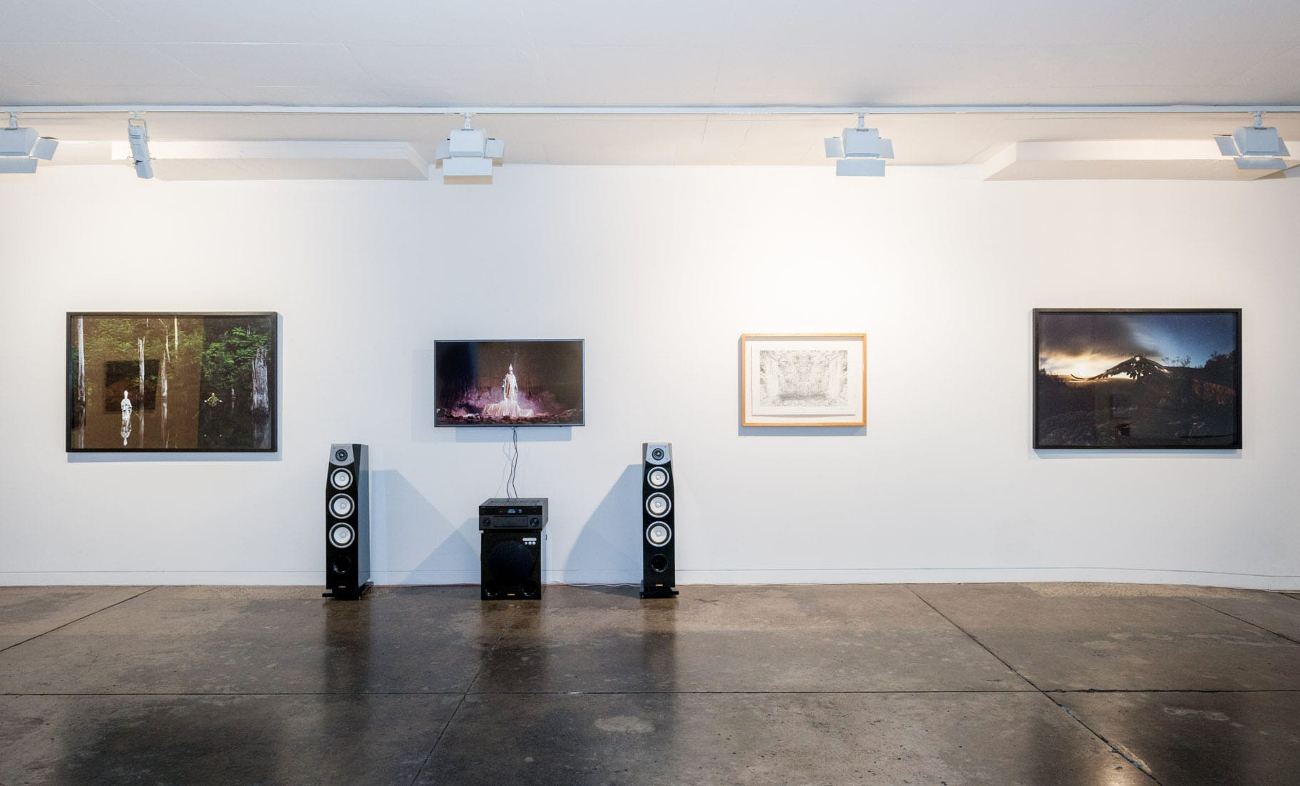 The Myth-Makers, Jeremy Blincoe & Becc Orszag, installation shot
