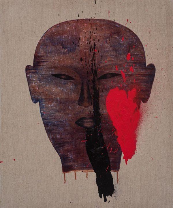 Dadang Christanto, Torture 1, 2014, 90x60cmLR