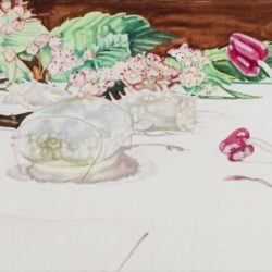 Dena Kahan, Glass Garden #4, 2010, Oil On Linen, 51x107cm