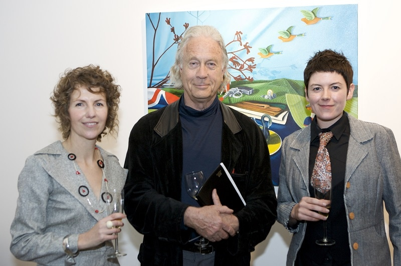 Director Marita Smith, Historian, Dr Henry Reynolds And Artist Monika Behrens At The Inaugural Opening In 2008