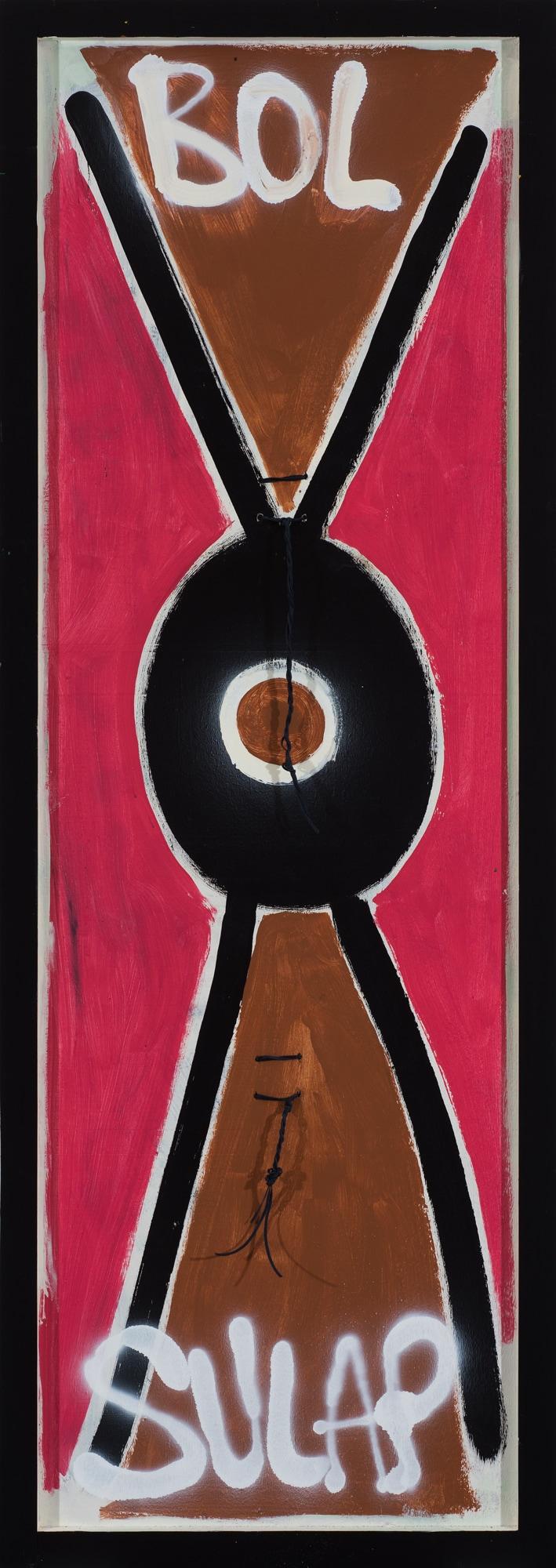 Eric Bridgman, Bol Sulap (verso), 170x60cm