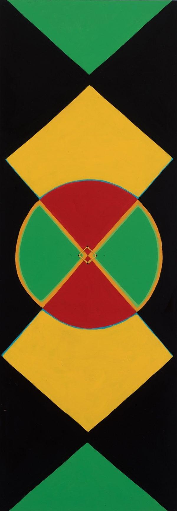 Eric Bridgman, Pineapple Country (front), 170x60cm