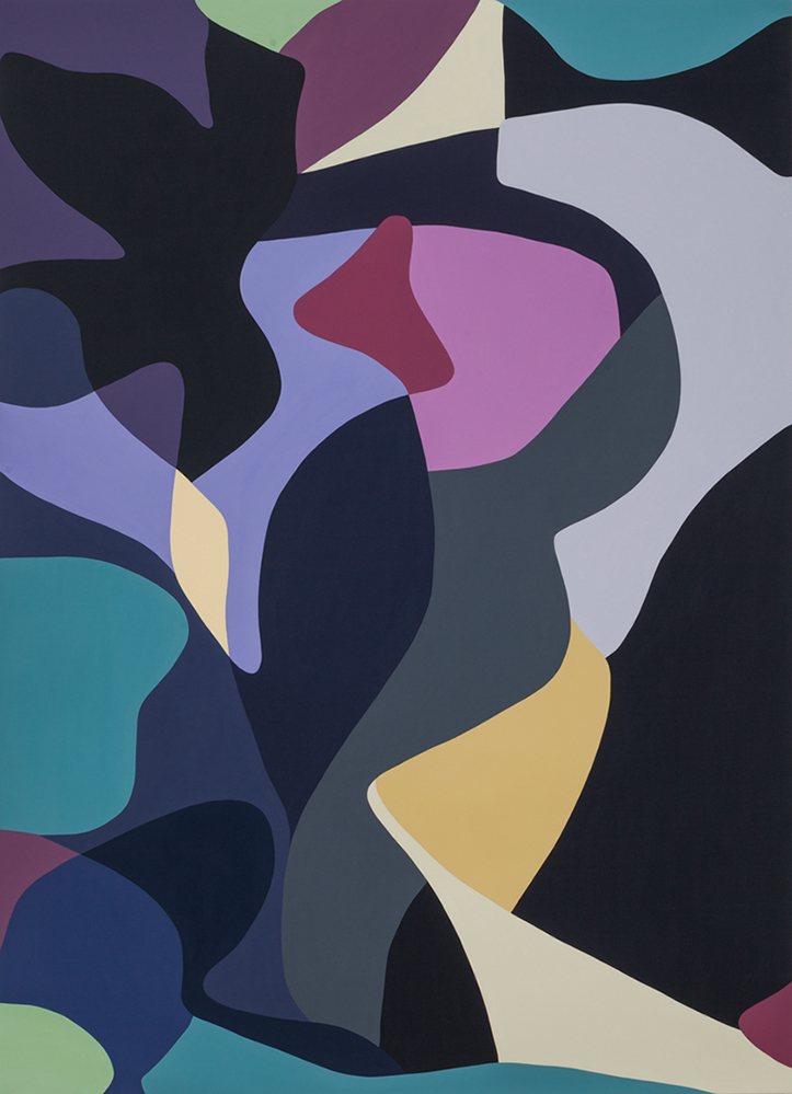 Jennifer Goodman, Flow1, 2014, oil on linen, 180x130cm