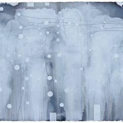 Ian Friend, Pier And Ocean III, 2017, Gouache And Crayon, 90x115cm
