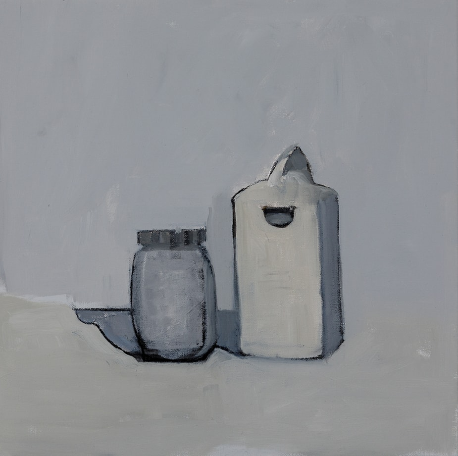 Isobel Clement, Entry, 36x36cm