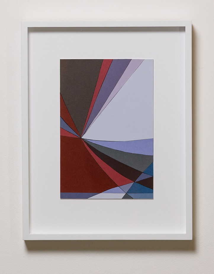 Jennifer Goodman, Paper Array, 60x40cm, framed