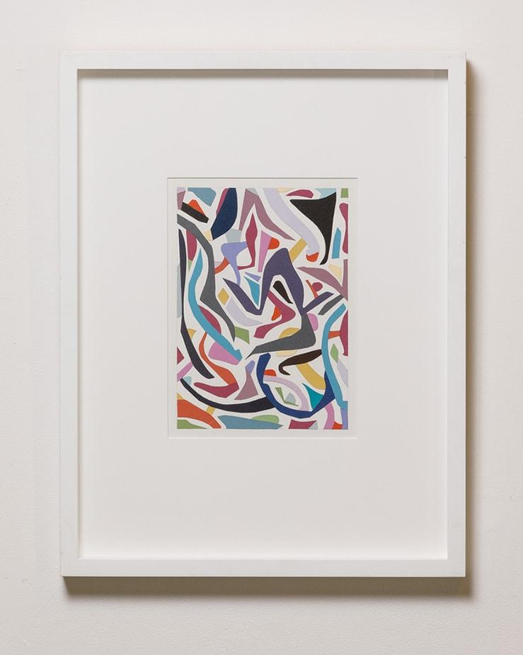 Jennifer Goodman, Paper Flow, 56x43cm