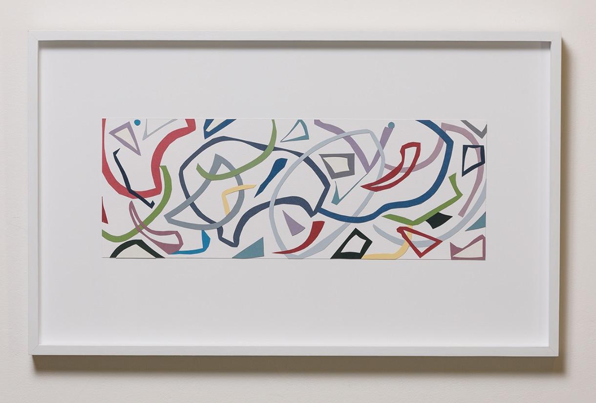 Jennifer Goodman, Paper Matter, 42x69cm