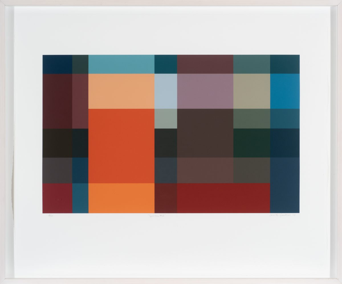 Jennifer Goodman, Spectra 2, 2010, 35x58cm