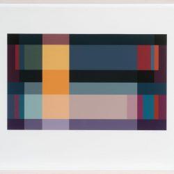 Jennifer Goodman, Spectra 4, 2010, Pigment Print On Cotton Rag, 35x58cm