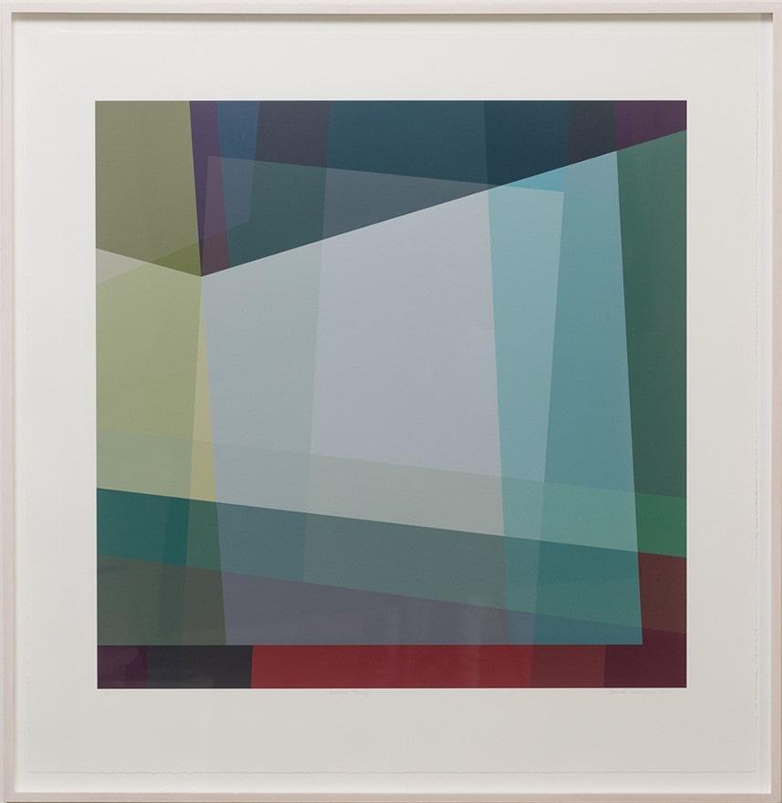 Jennifer Goodman, Spectral Musing, 95x92cm