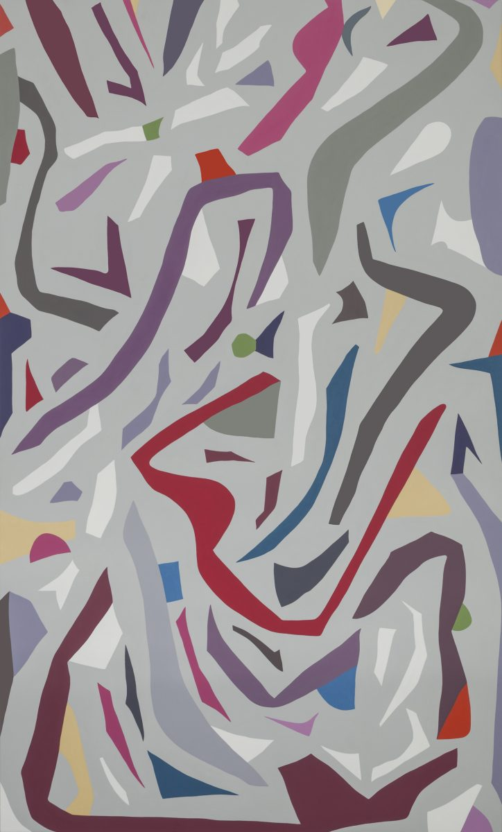 Jennifer Goodman, Zeal, 2015, oil on linen, 200x120cm