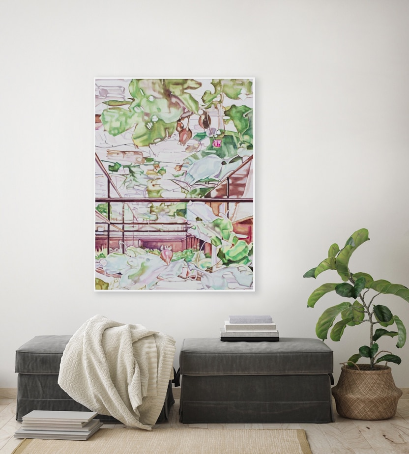 Dena Kahan, Floating World, install