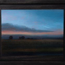 Kirrily Hammond, Epping Victoria, 2017, Oil On Copper, 9x12cm