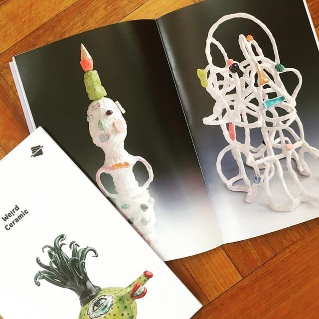 Weird Ceramic exhibition catalogue