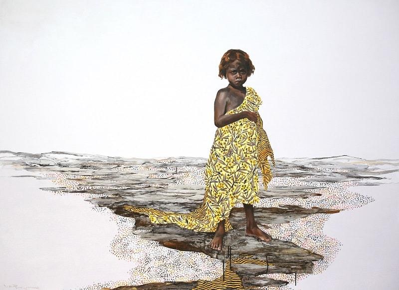 Lori Pensini, Bush Blanket, 115x150cm
