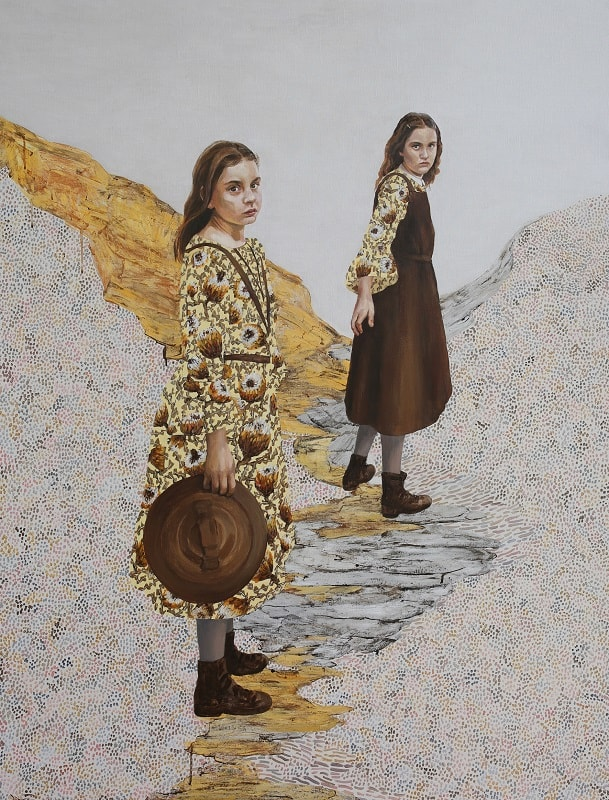 Lori Pensini, Journey 1, 150x115cm