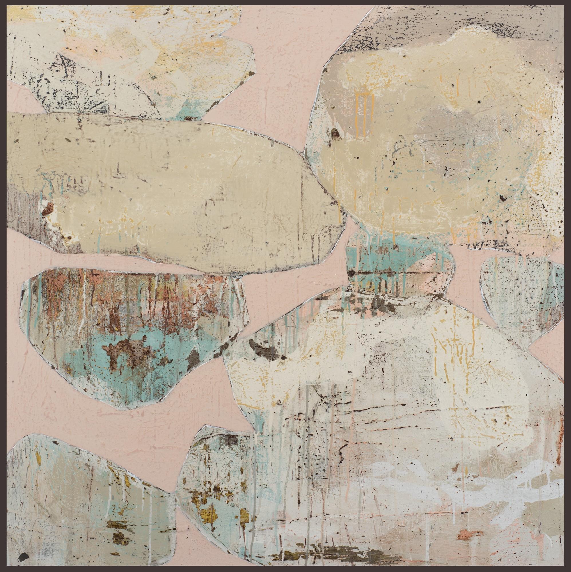 Ngaio Lenz, #106, 2017, 122x122cm