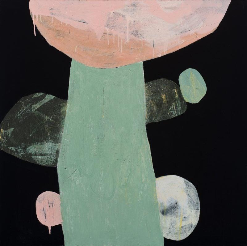 Ngaio Lenz, #57, 2015, 91x91cm