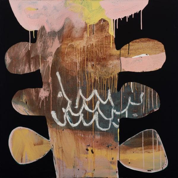 Ngaio Lenz, #62, 2015, 101x101cm