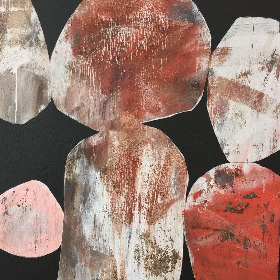 Ngaio Lenz, #75, 120x120cm