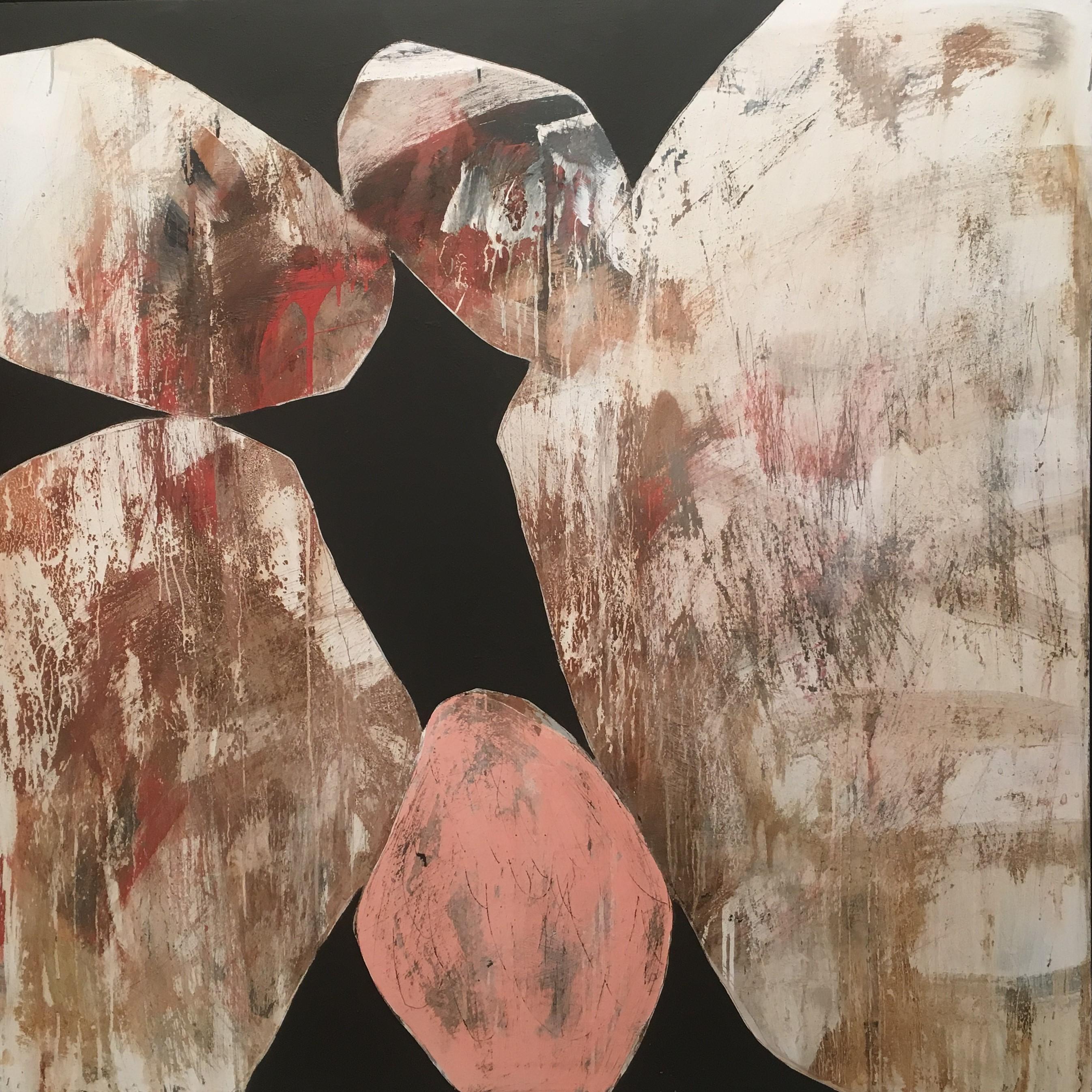 Ngaio Lenz, #76, 120x120cm