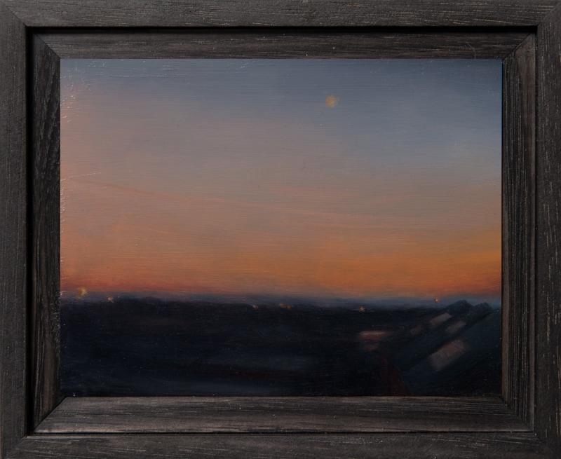 Kirrily Hammond, Nunan St, oil on copper, 9x12cm