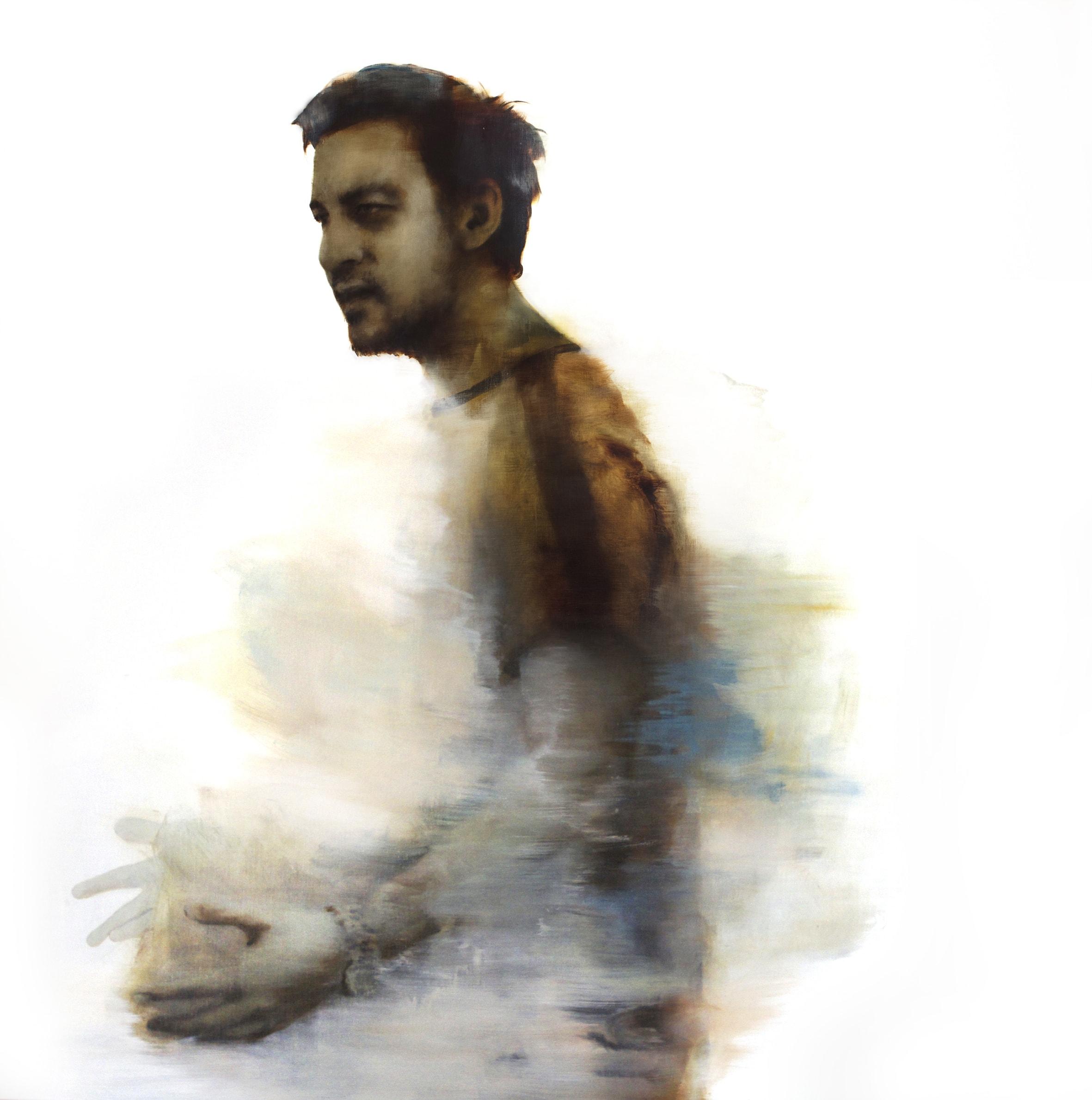 Rachel Coad, Waldemar, Oil On Linen, 175x175cm