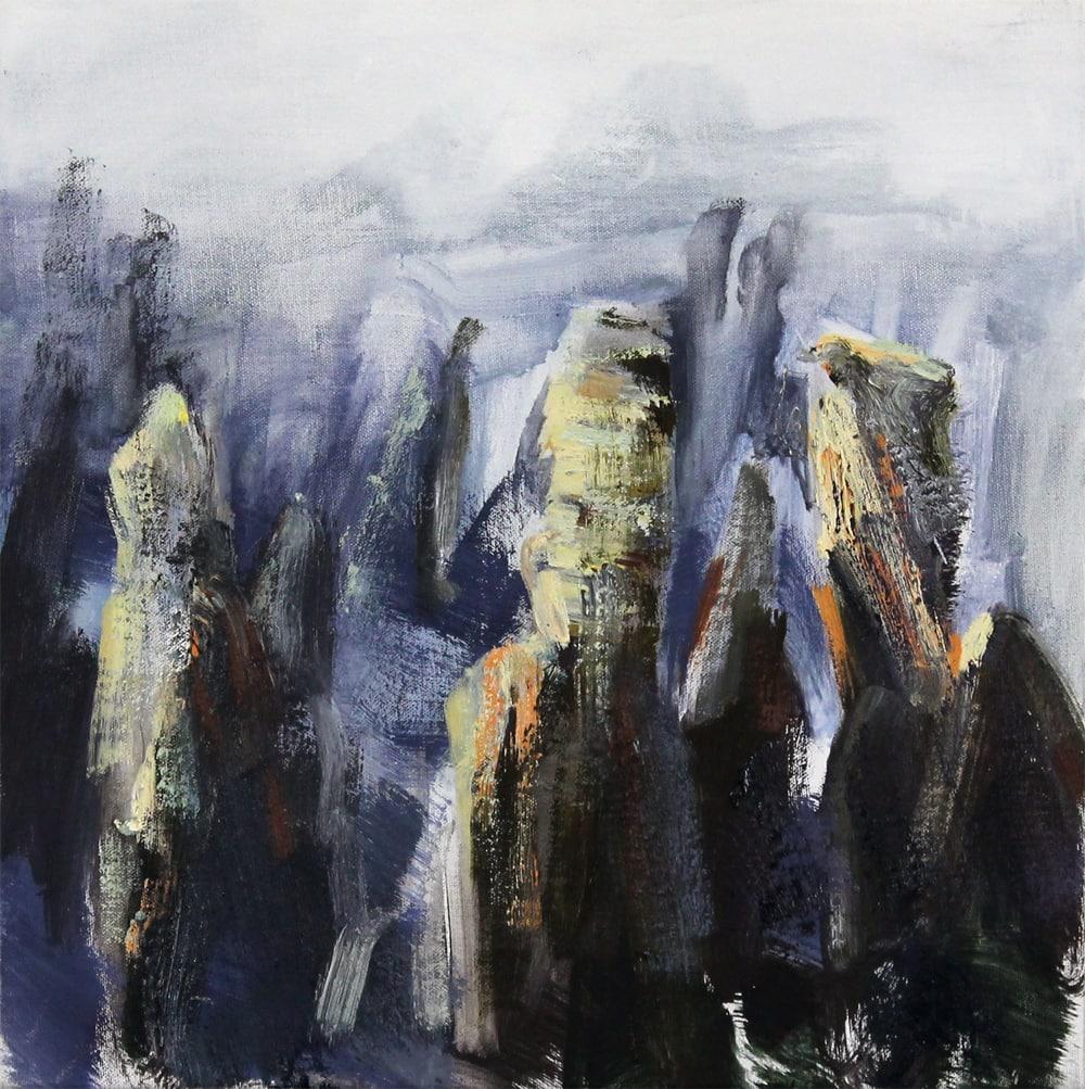 Tim Allen, Apart (Huangshan) 51x51cm