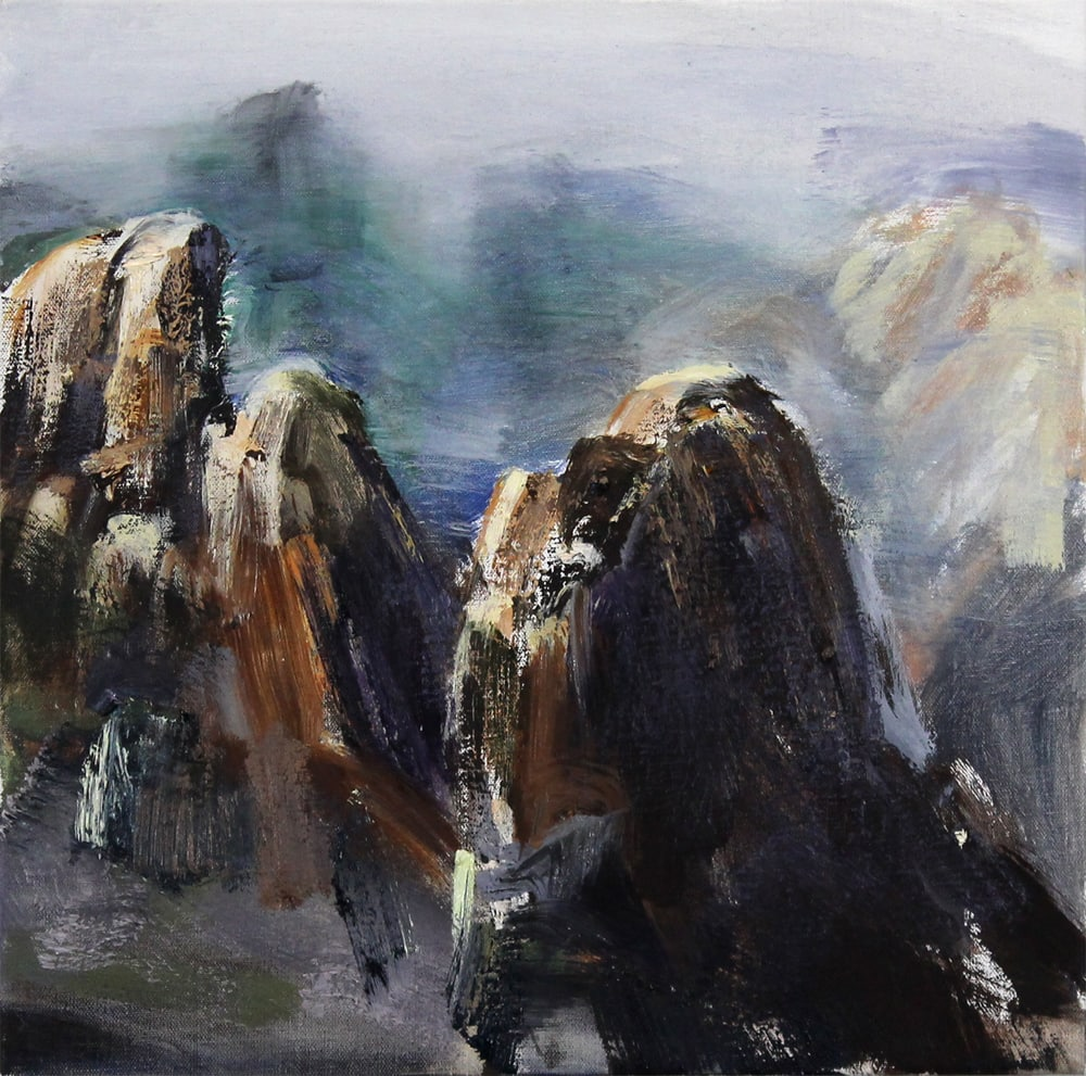 Tim Allen, Follow (Huangshan), 51x51cm