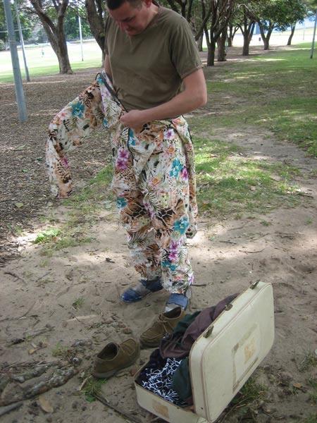 Adam Norton, Camouflage Experiment