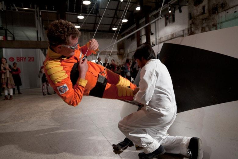 Adam Norton, Mars Gravity Simulator, 2012