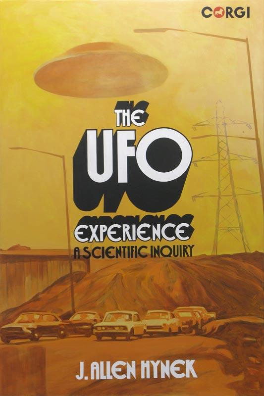 Adam Norton, The UFO Experience, 2014, Oil On Linen, 150x100cm