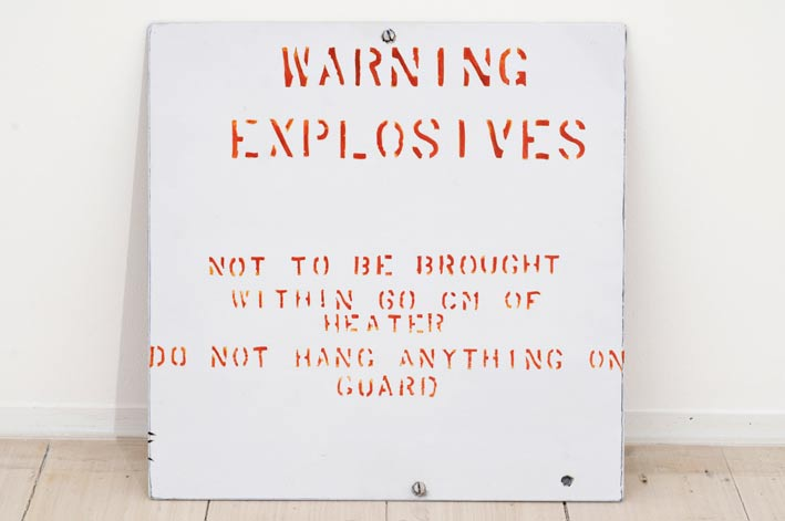 Adam Norton, Warning Explosives