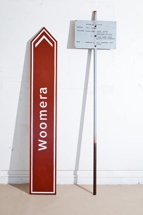 Adam Norton, Woomera Warning Lights
