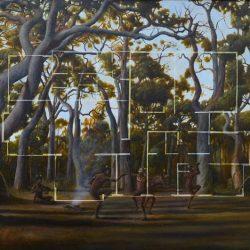 Christopher Pease, 4 Bedroom 2 Bathroom, 2011, Oil On Linen, 73x110cm
