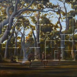 Christopher Pease, 4 Bedroom 2 Bathroom, 2011, Oil On Linen, 73x110cm
