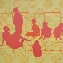 Christopher Pease, Land Release 3, 2011, Oil On Linen, 90x127cm